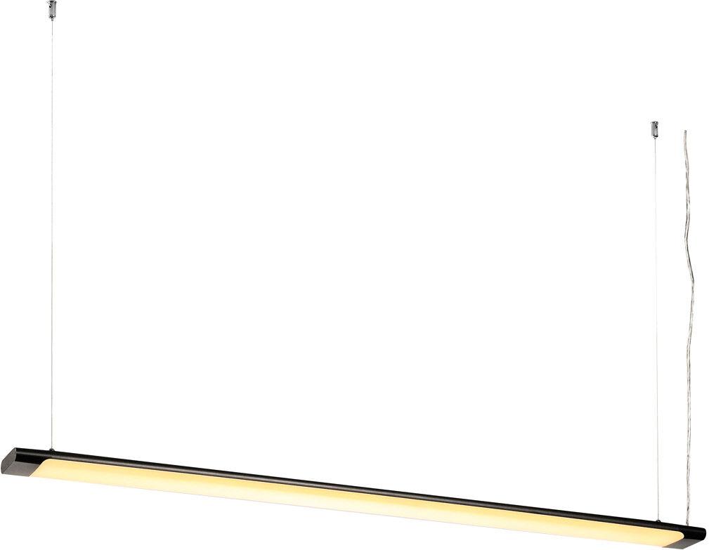 SLV Suspension HANG UP2 LED, 3000 K, noir, 38,4 W - Lampes pendulaires