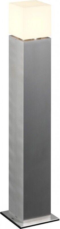 SLV SQUARE POLE 90 E27, lampadaire outdoor, inox 304, max. 20W, IP44 - Lampes sur pied, murales et de plafond (extérieur)