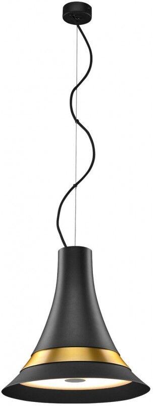 SLV Suspension d', intérieur BATO 35 PD LED, noir laiton, 2700K - Lampes pendulaires