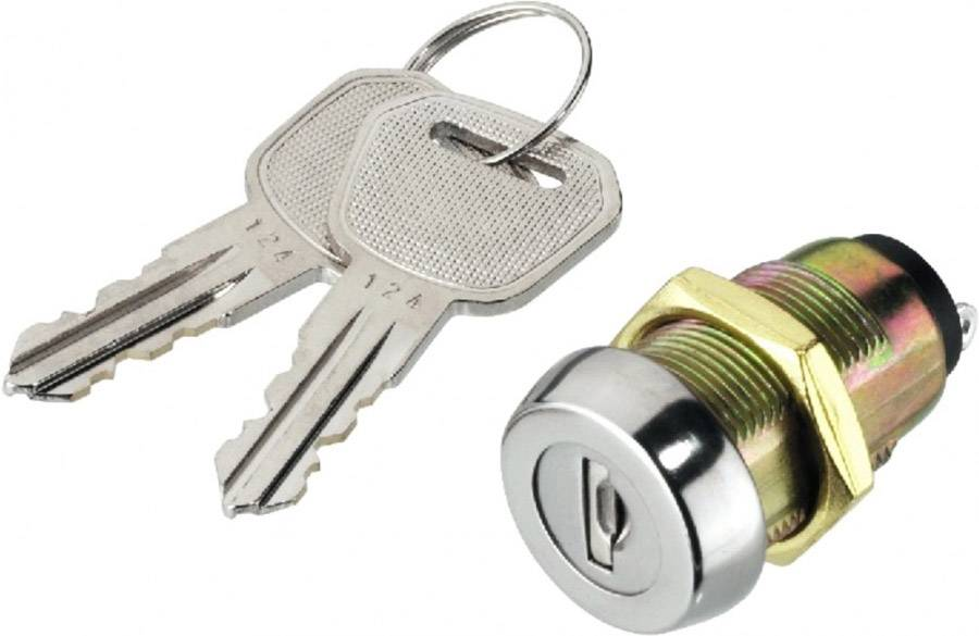 Monacor NS-32 Interrupteur à clé - Commutateurs, boutons et régleurs