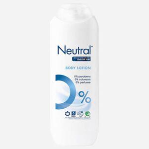 Neutral Lotion corporelle 0% de Neutral - 250ml - Publicité