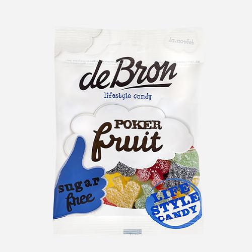 De Bron - Lifestyle Candy Fruit de Poker Sans Sucre