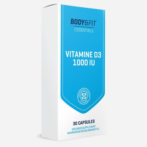 Body&Fit Vitamine D3 - 1000UI