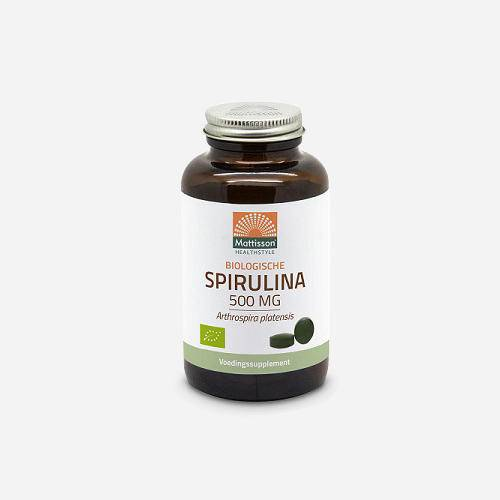 Mattisson Absolute Spiruline 500 mg Bio
