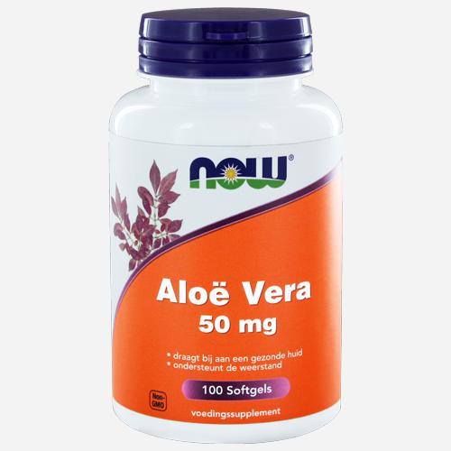 Now Foods Aloe Vera Capsules Molles