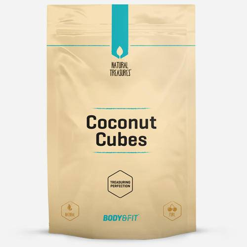Body&Fit Pure Cubes de noix de coco