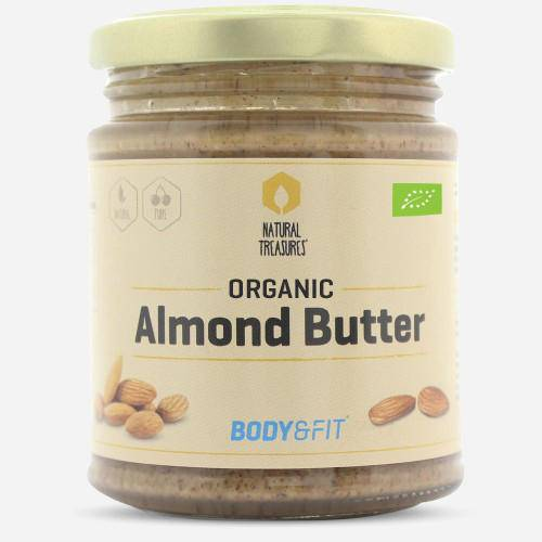Body & fit Organic Beurre d'amandes pures
