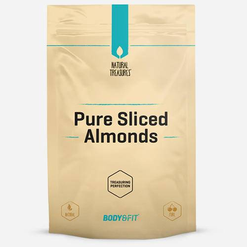 Body & fit Superfoods Pure Amandes effilées
