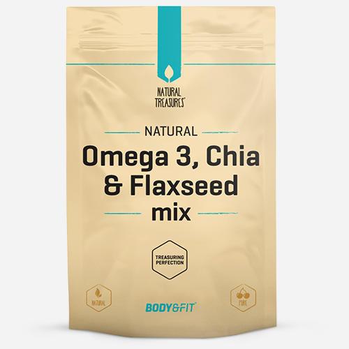 Body & fit Superfoods Mélange Oméga-3, graines de chia et graines de lin