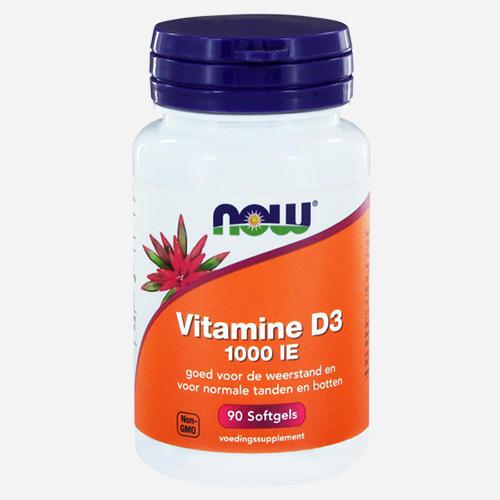 Now Foods Vitamine D3 (1000 IU)