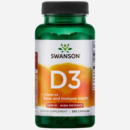High Potency Vitamine D-3 1000IU