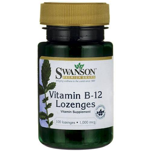 Swanson Health B-12 Pastilles à sucer 1000mcg