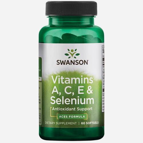 Swanson Health Ultra Vitamins A, C, E & Selenium