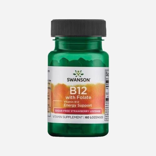 Swanson Health Ultra Vitamine B-12 W/Folic Acid