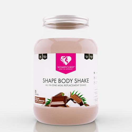 Womens Best Substitut alimentaire en poudre Shape Body Shake