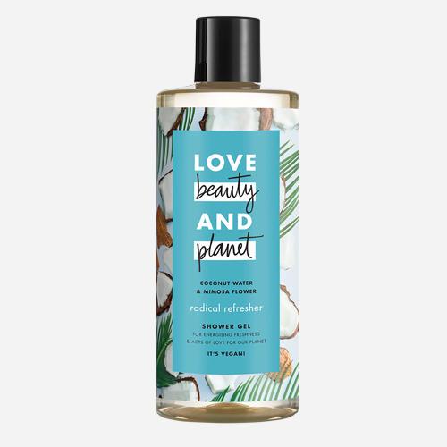 Amour, beauté et planète Gel douche Radical Refresher de Love Beauty & Planet - 500ml