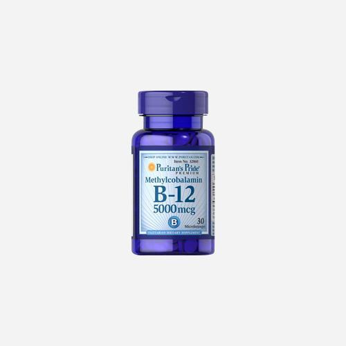 Puritan's Pride Methylcobalamin Vitamin B-12 5000 mcg
