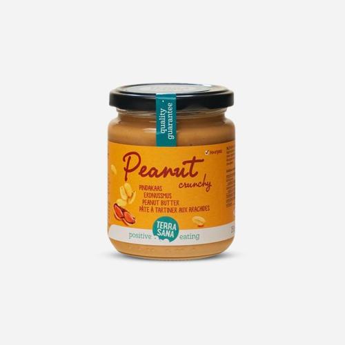 Terrasana Pâte à tartiner aux arachides Crunchy