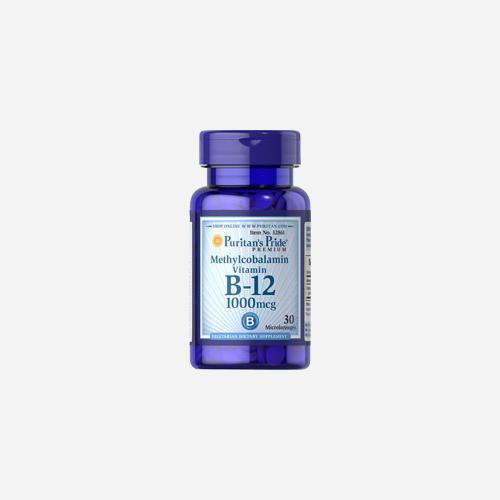 Puritan's Pride Methylcobalamin vitamin B-12 1000 mcg