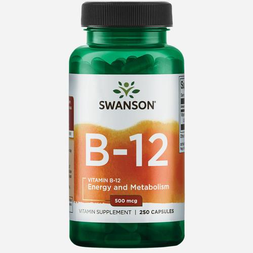 Swanson Health Vitamine B-12 500mcg