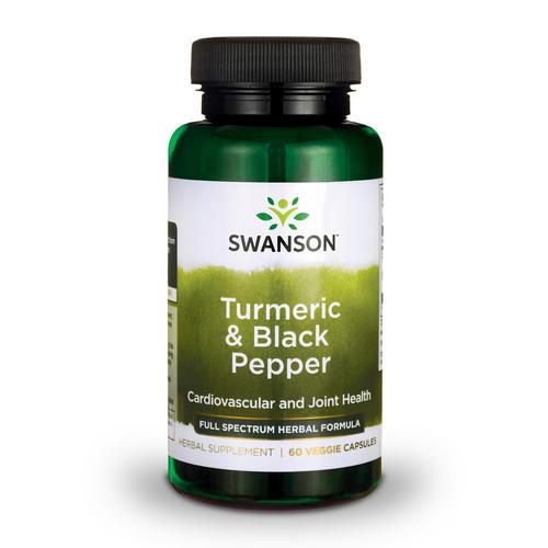 Swanson Health Full Spectrum Curcuma & Poivre noir