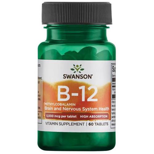 Swanson Health Ultra Vitamin B-12 High Absorption Sublingual 5mg