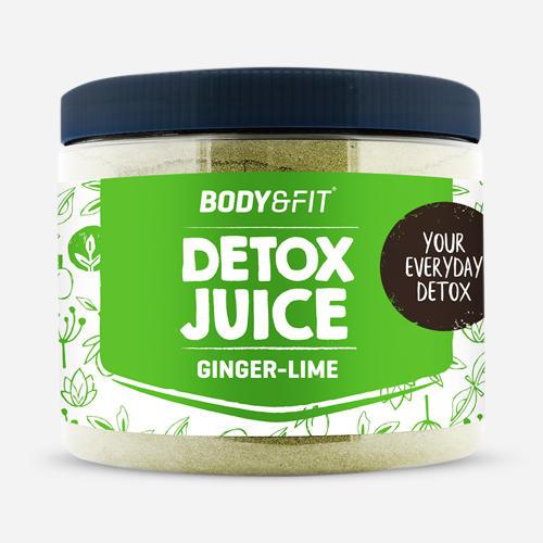 Body&Fit jus détox gingembre-citron vert Detox Juice - pot pour 45jours