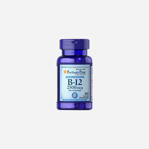 Puritan's Pride Vitamin B-12 2500 mcg Sublingual