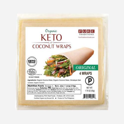 Improveat Pure Wraps Coconut