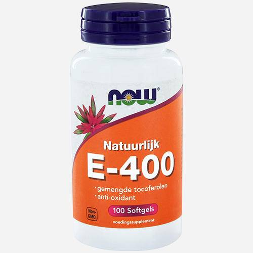 Now Foods Vitamine E-400 naturelle