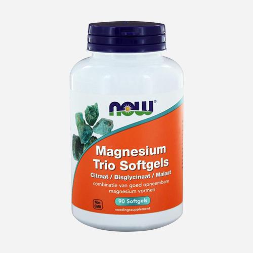 Now Foods Magnesium Trio Softgels