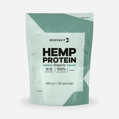 Body & fit Organic Protéine de chanvre biologique