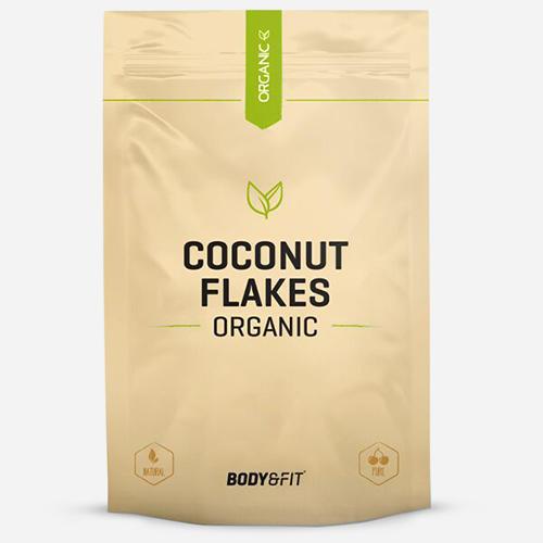 Body & fit Organic Flocons de noix de coco biologiques
