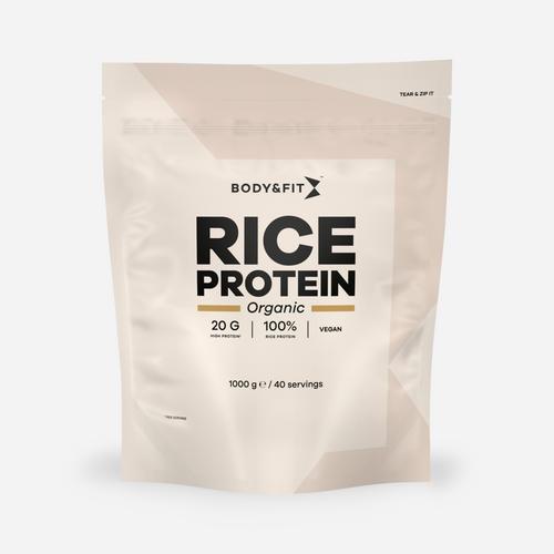 Body & fit Organic Protéine de riz biologique