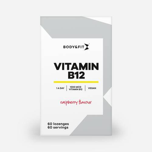 Body & Fit Vitamine B12 - Pastilles à sucer