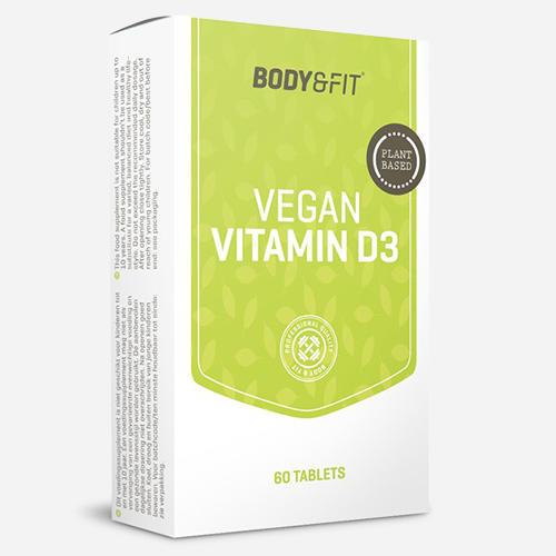 Body&Fit VitamineD3 végétalienne Vegan VitaminD3