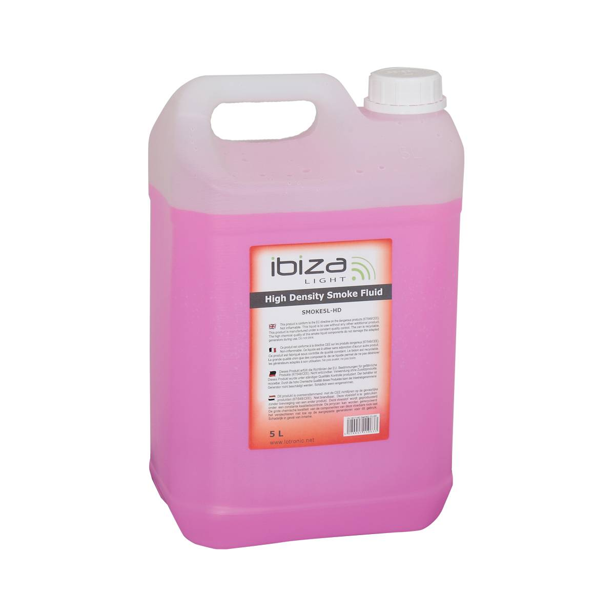 Ibiza Light Liquide fumée standard 5 litres - SMOKE5L-HD