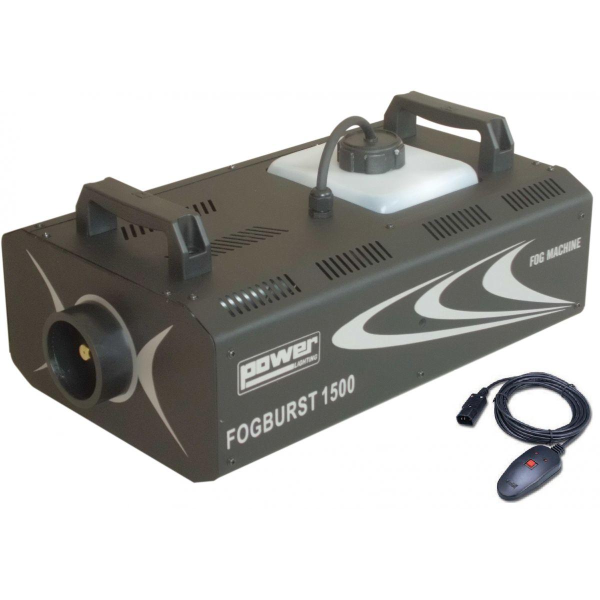 Power Lighting FOGBURST 1500