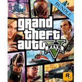 Rockstar Games Grand Theft Auto V 5 Great White Shark Card Bundle PC