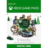 Microsoft 12 Month Xbox Game Pass Xbox One