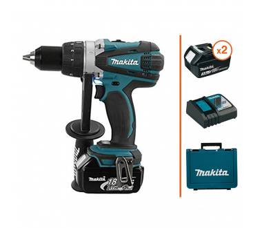 MAKITA Perceuse visseuse 18V - 2 bat. 3 Ah + chargeur MAKITA
