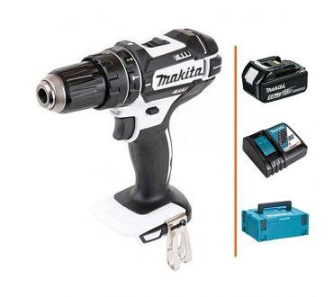 MAKITA Perceuse visseuse à percussion 18V - 1 bat. 5Ah + chargeur MAKITA