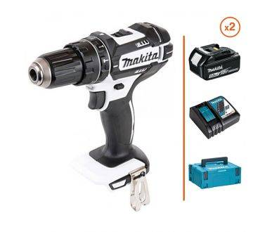 MAKITA Perceuse visseuse à percussion 18V - 2 bat. 5Ah + chargeur MAKITA