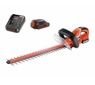 Black&Decker Taille-haies 18V - 45 cm - 1 bat. 1.5 Ah + chargeur - BLACK+DECKER  Black&Decker 1605