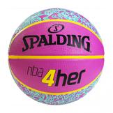 Spalding 4Her Ball - Rose & Bleu