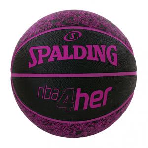 Spalding 4Her Ball - Noir & Rose