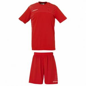 Uhlsport Match Team Kit Women - Rouge & Blanc