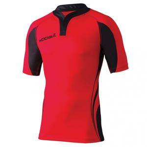 Kooga Tight Fit Curve Shirt - Rouge & Noir