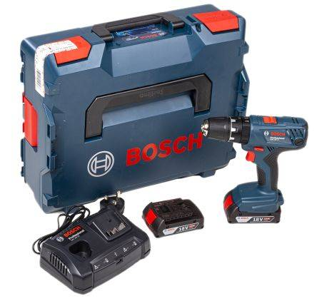 Bosch Perceuse visseuse sans fil, 18V, 2Ah Li-Ion , Type G - Britannique 3 points, 0.601.9H1.171