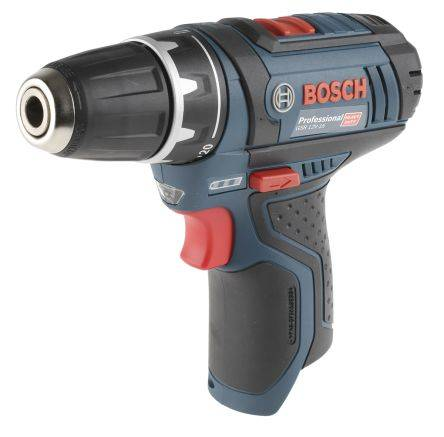 Bosch Perceuse sans fil 10 mm, 12V, 1.5Ah Li-Ion, 0601868101